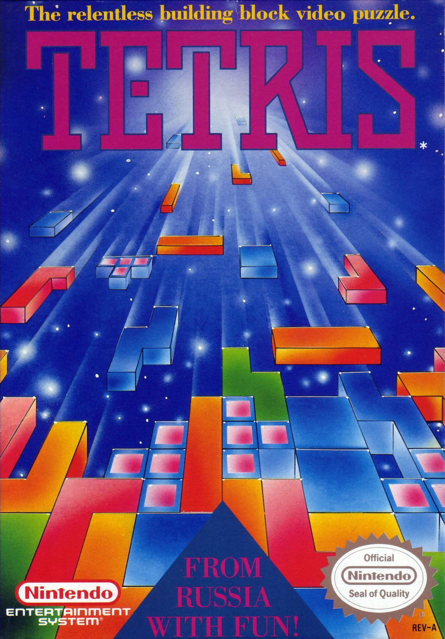 Your Gaming Shop - Tetris - Authentic NES Game Cartridge
