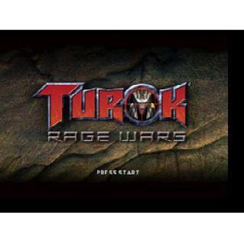 Turok: Rage Wars - Authentic Nintendo 64 (N64) Game Cartridge - YourGamingShop.com - Buy, Sell, Trade Video Games Online. 120 Day Warranty. Satisfaction Guaranteed.