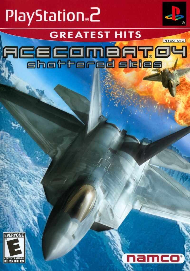 Ace Combat 04: Shattered Skies Greatest Hits - PlayStation 2 (PS2) Game