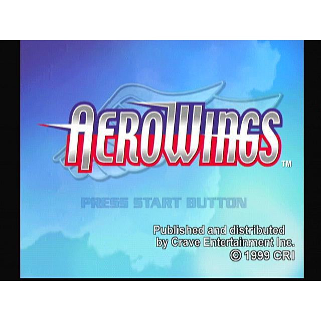 AeroWings  - Sega Dreamcast Game Complete - YourGamingShop.com - Buy, Sell, Trade Video Games Online. 120 Day Warranty. Satisfaction Guaranteed.