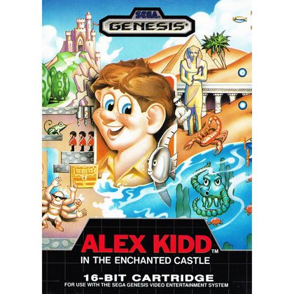 Alex Kidd in the Enchanted Castle - Sega Genesis Game Complete - YourGamingShop.com - Buy, Sell, Trade Video Games Online. 120 Day Warranty. Satisfaction Guaranteed.