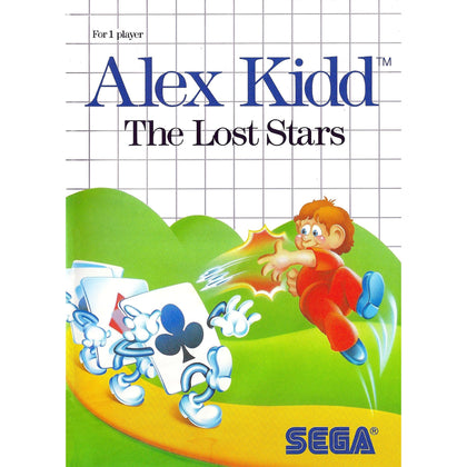 Alex Kidd: The Lost Stars - Sega Master System Game Complete - YourGamingShop.com - Buy, Sell, Trade Video Games Online. 120 Day Warranty. Satisfaction Guaranteed.