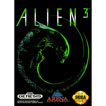 Alien 3 - Sega Genesis Game Complete - YourGamingShop.com - Buy, Sell, Trade Video Games Online. 120 Day Warranty. Satisfaction Guaranteed.