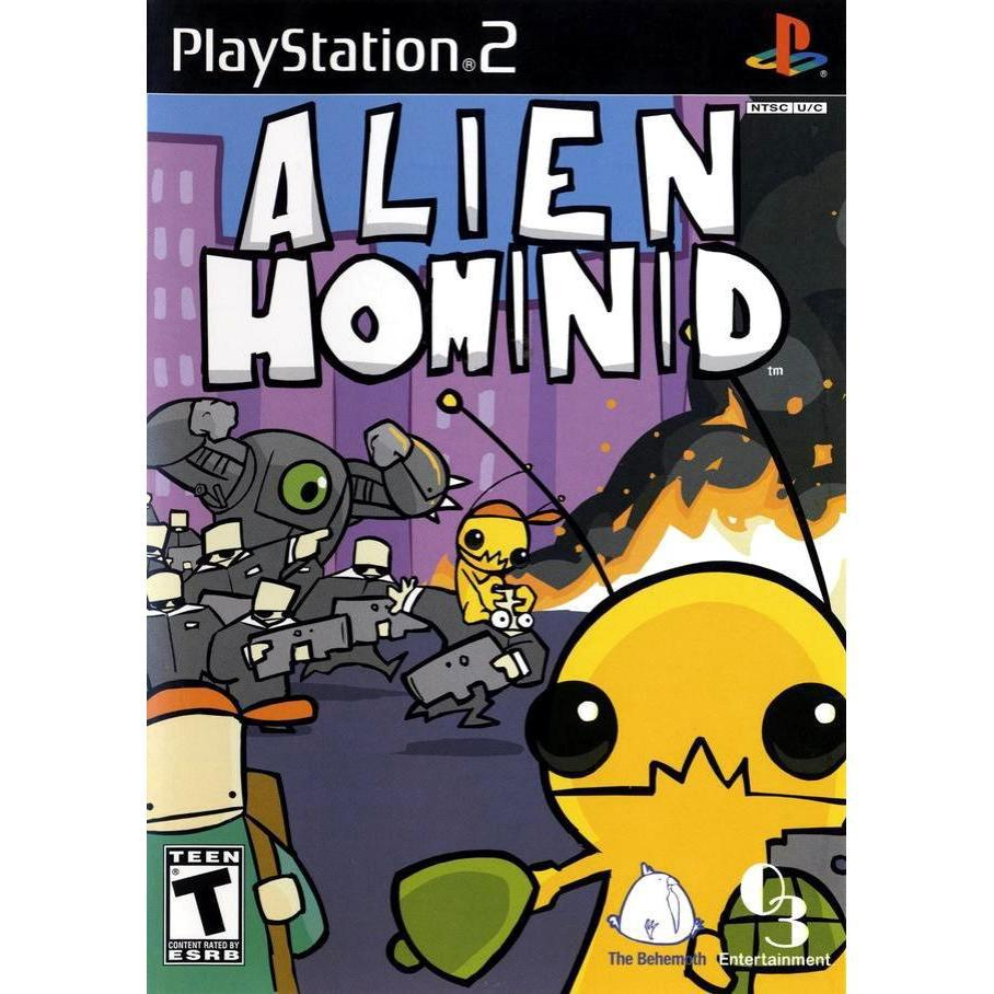 Alien Hominid - PlayStation 2 (PS2) Game Complete - YourGamingShop.com - Buy, Sell, Trade Video Games Online. 120 Day Warranty. Satisfaction Guaranteed.