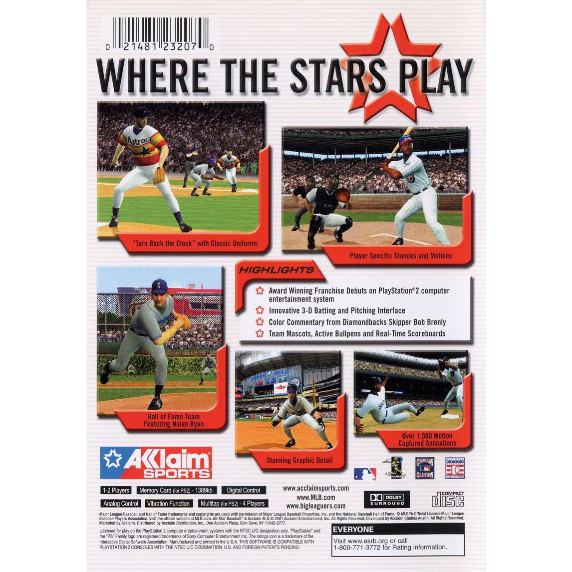 All-Star Baseball 2002 - PlayStation 2 (PS2) Game Complete - YourGamingShop.com - Buy, Sell, Trade Video Games Online. 120 Day Warranty. Satisfaction Guaranteed.