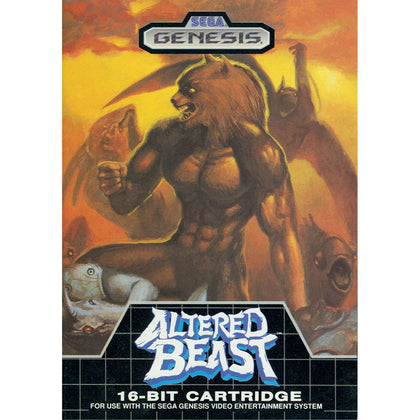 Altered Beast - Sega Genesis Game Complete - YourGamingShop.com - Buy, Sell, Trade Video Games Online. 120 Day Warranty. Satisfaction Guaranteed.