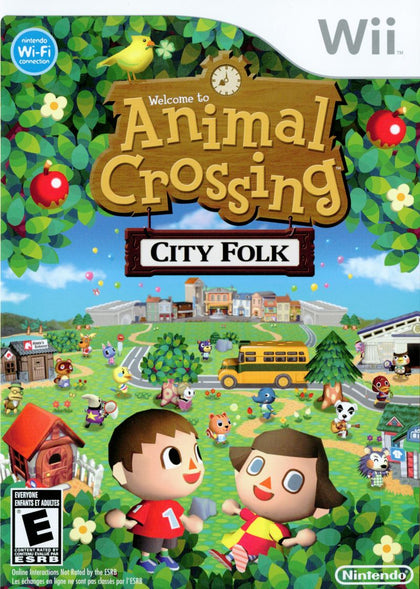 Animal Crossing: City Folk - Nintendo Wii Game