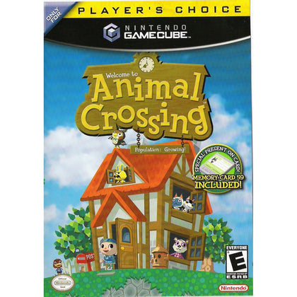 Animal Crossing (Player's Choice) - Nintendo GameCube Game Complete - YourGamingShop.com - Buy, Sell, Trade Video Games Online. 120 Day Warranty. Satisfaction Guaranteed.
