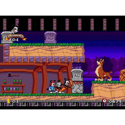 Animaniacs - Sega Genesis Game Complete - YourGamingShop.com - Buy, Sell, Trade Video Games Online. 120 Day Warranty. Satisfaction Guaranteed.