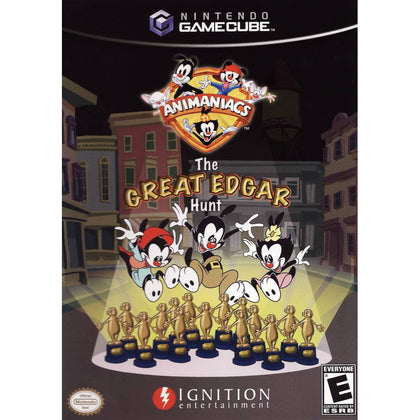 Animaniacs: The Great Edgar Hunt - Nintendo GameCube Game Complete - YourGamingShop.com - Buy, Sell, Trade Video Games Online. 120 Day Warranty. Satisfaction Guaranteed.