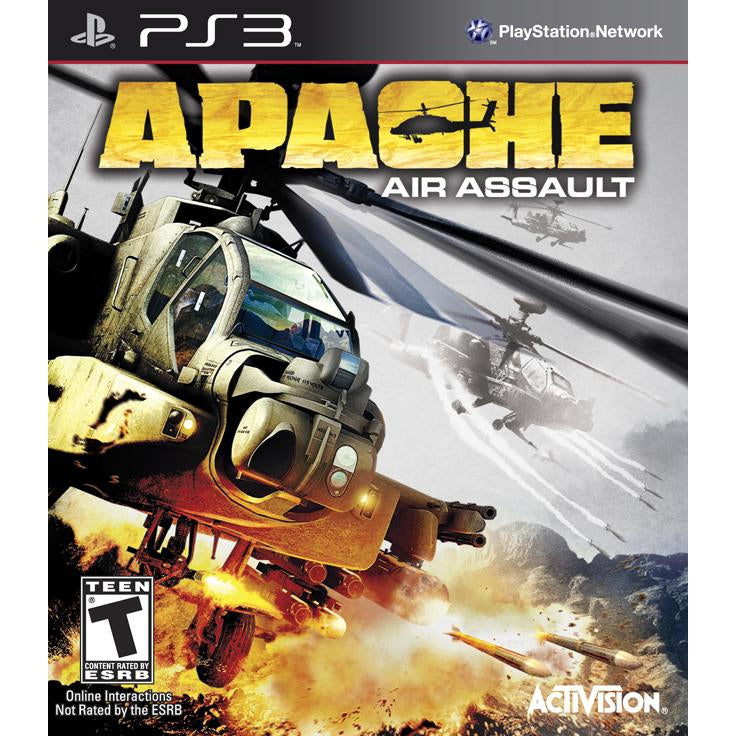 Apache: Air Assault - PlayStation 3 (PS3) Game Complete - YourGamingShop.com - Buy, Sell, Trade Video Games Online. 120 Day Warranty. Satisfaction Guaranteed.
