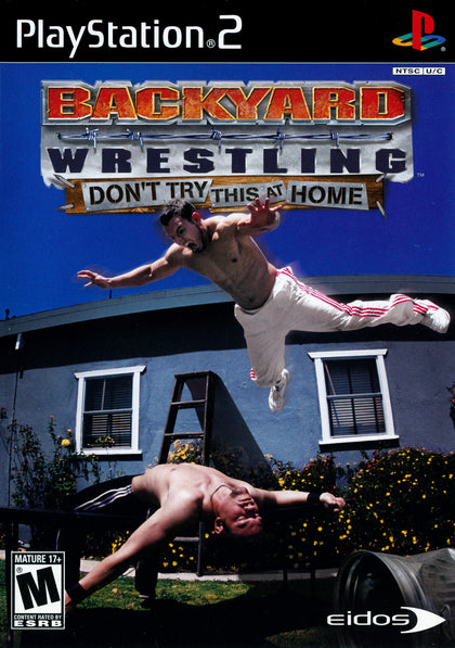 Backyard Wrestling: Don't Try This at Home - PlayStation 2 (PS2) Game