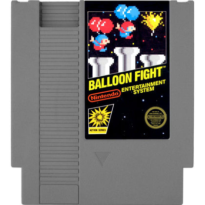Balloon Fight - Authentic NES Game Cartridge