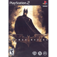 Batman Begins - PlayStation 2 (PS2) Game