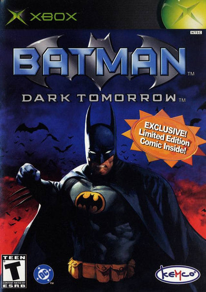 Batman: Dark Tomorrow - Microsoft Xbox Game
