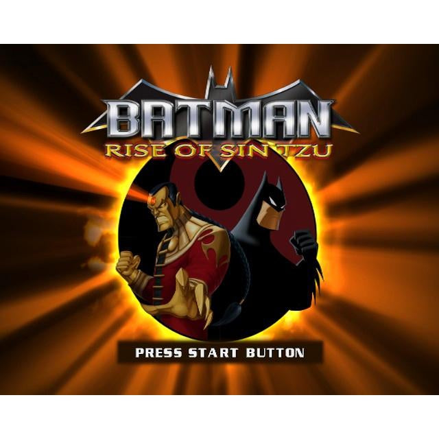 Batman: Rise of Sin Tzu - PlayStation 2 (PS2) Game Complete - YourGamingShop.com - Buy, Sell, Trade Video Games Online. 120 Day Warranty. Satisfaction Guaranteed.