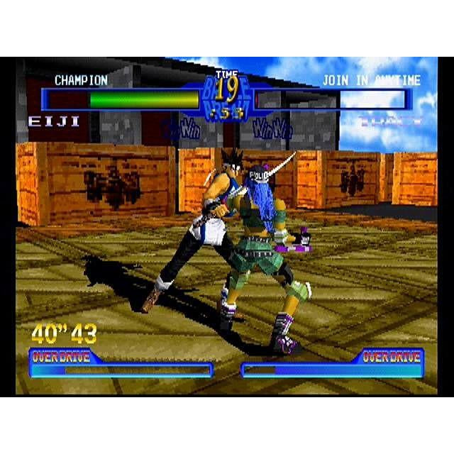 Battle Arena Toshinden 2 (Long Box) - PlayStation 1 (PS1) Game Complete - YourGamingShop.com - Buy, Sell, Trade Video Games Online. 120 Day Warranty. Satisfaction Guaranteed.
