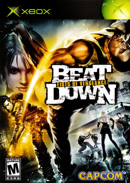 Beat Down: Fists of Vengeance - Microsoft Xbox Game