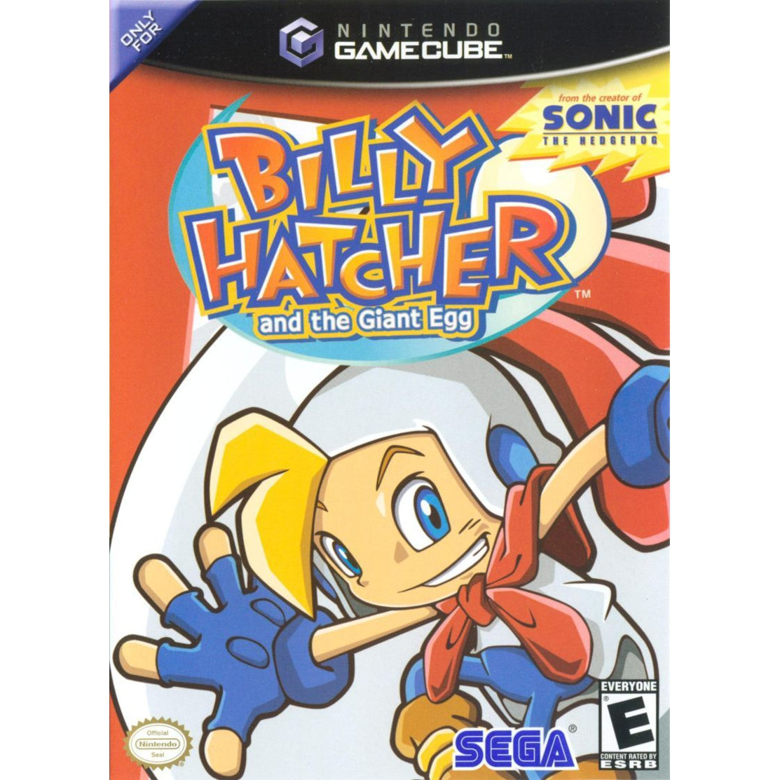 Billy Hatcher and the Giant Egg - GameCube Game Complete - YourGamingShop.com - Buy, Sell, Trade Video Games Online. 120 Day Warranty. Satisfaction Guaranteed.