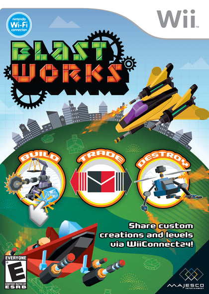 Blast Works: Build, Trade, Destroy - Nintendo Wii Game