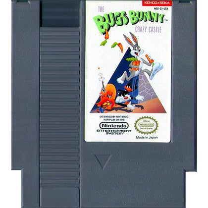 Bugs Bunny: The Crazy Castle - Authentic NES Game Cartridge - YourGamingShop.com - Buy, Sell, Trade Video Games Online. 120 Day Warranty. Satisfaction Guaranteed.