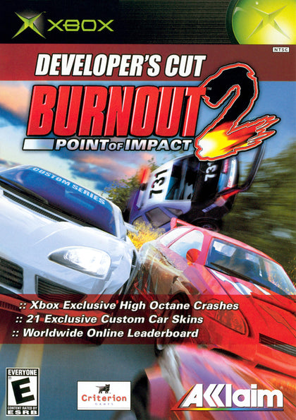 Burnout 2: Point of Impact: Developer's Cut - Microsoft Xbox Game