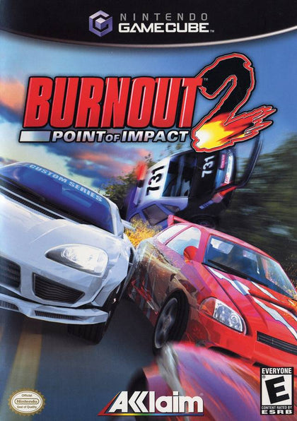 Burnout 2: Point Of Impact - GameCube Game