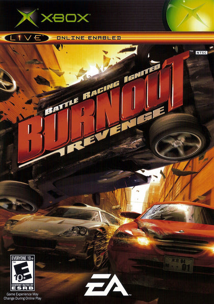 Burnout Revenge - Microsoft Xbox Game