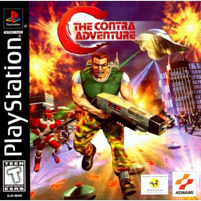 C: The Contra Adventure - PlayStation 1 (PS1) Game Complete - YourGamingShop.com - Buy, Sell, Trade Video Games Online. 120 Day Warranty. Satisfaction Guaranteed.