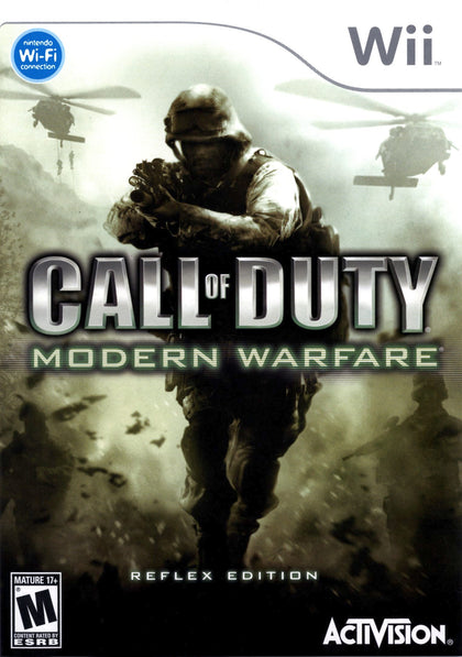 Call of Duty: Modern Warfare: Reflex Edition - Nintendo Wii Game