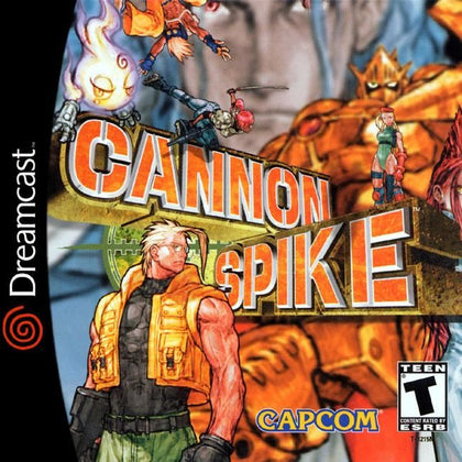 Cannon Spike - Sega Dreamcast Game