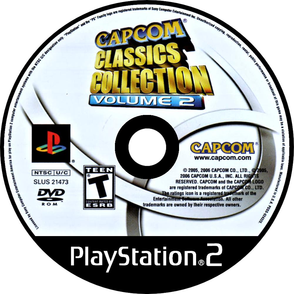 Capcom Classics Collection: Volume 2 - PlayStation 2 (PS2) Game Complete - YourGamingShop.com - Buy, Sell, Trade Video Games Online. 120 Day Warranty. Satisfaction Guaranteed.