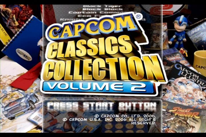 Capcom Classics Collection: Volume 2 - PlayStation 2 (PS2) Game