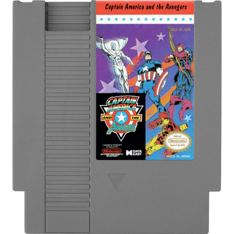 Captain America and the Avengers - Authentic NES Game Cartridge - YourGamingShop.com - Buy, Sell, Trade Video Games Online. 120 Day Warranty. Satisfaction Guaranteed.