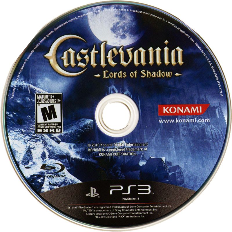 Castlevania: Lords of Shadow - PlayStation 3 (PS3) Game