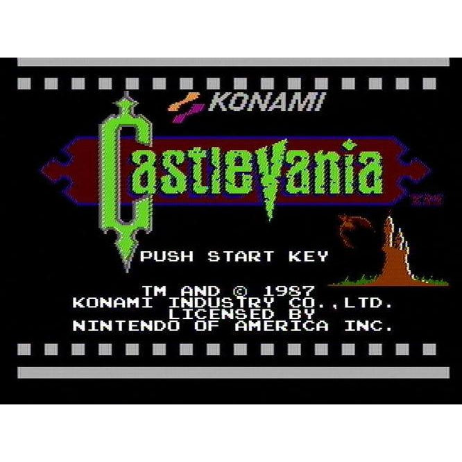 Castlevania - Authentic NES Game Cartridge - YourGamingShop.com - Buy, Sell, Trade Video Games Online. 120 Day Warranty. Satisfaction Guaranteed.