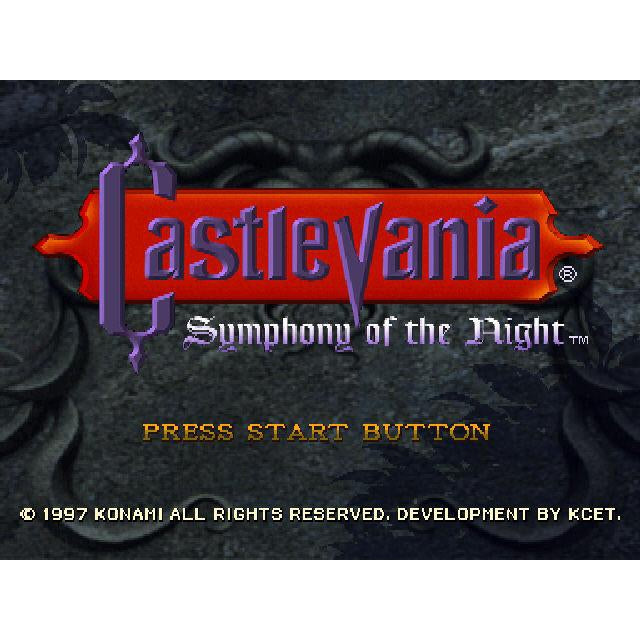 Castlevania: Symphony of the Night Greatest Hits - PlayStation 1 (PS1) Game Complete - YourGamingShop.com - Buy, Sell, Trade Video Games Online. 120 Day Warranty. Satisfaction Guaranteed.