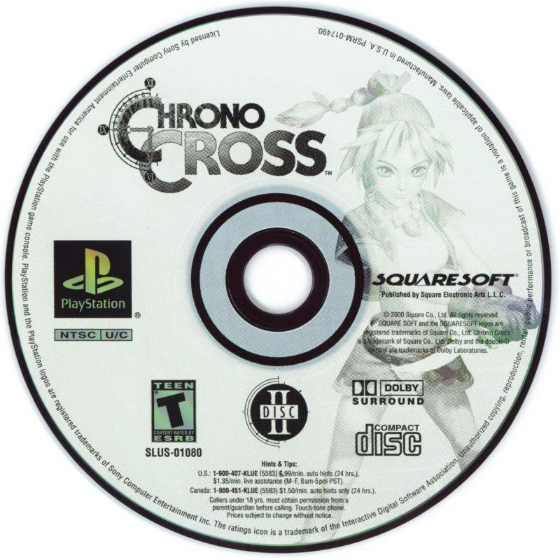 Your Gaming Shop - Chrono Cross - PlayStation 1 (PS1) Game