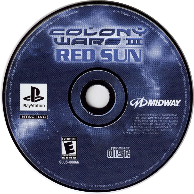 Colony Wars III: Red Sun - PlayStation 1 (PS1) Game