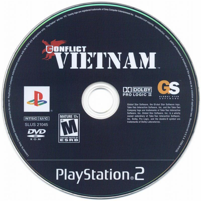 Conflict: Vietnam  - PlayStation 2 (PS2) Game Complete - YourGamingShop.com - Buy, Sell, Trade Video Games Online. 120 Day Warranty. Satisfaction Guaranteed.