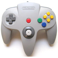 Nintendo 64 (N64) Official Controller - Gray