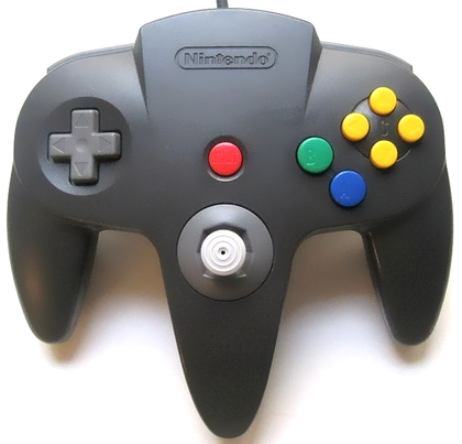 Nintendo 64 (N64) Official Controller - Black