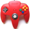 Nintendo 64 (N64) Official Controller - Red