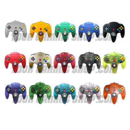 Nintendo 64 (N64) Genuine Controller - Choose Color - YourGamingShop.com - Buy, Sell, Trade Video Games Online. 120 Day Warranty. Satisfaction Guaranteed.