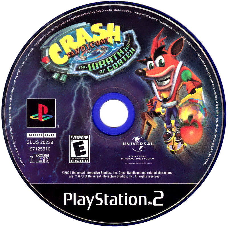 Crash Bandicoot: The Wrath of Cortex - PlayStation 2 (PS2) Game