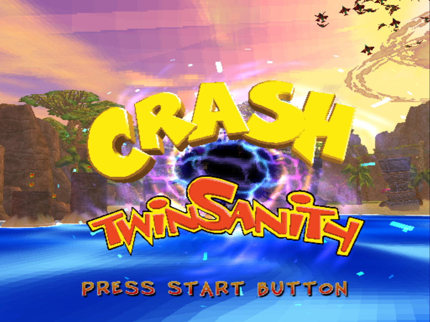 Crash Twinsanity - PlayStation 2 (PS2) Game