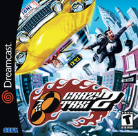 Crazy Taxi 2 - Sega Dreamcast Game