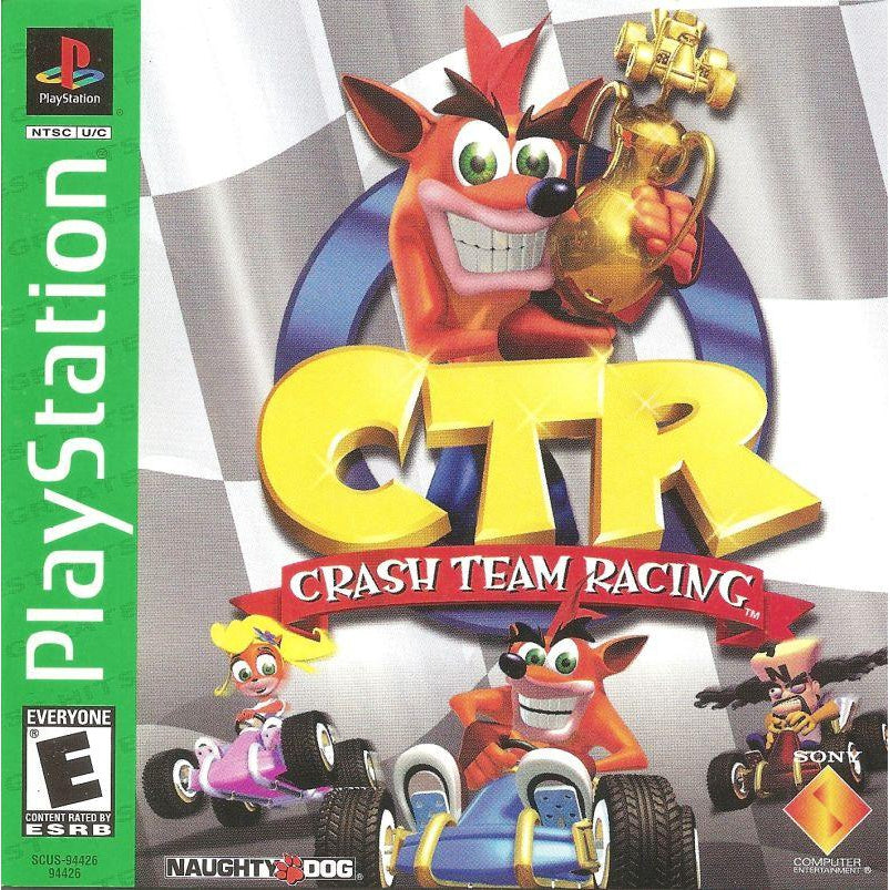 Your Gaming Shop - CTR: Crash Team Racing (Greatest Hits) - PlayStation 1 (PS1) Game