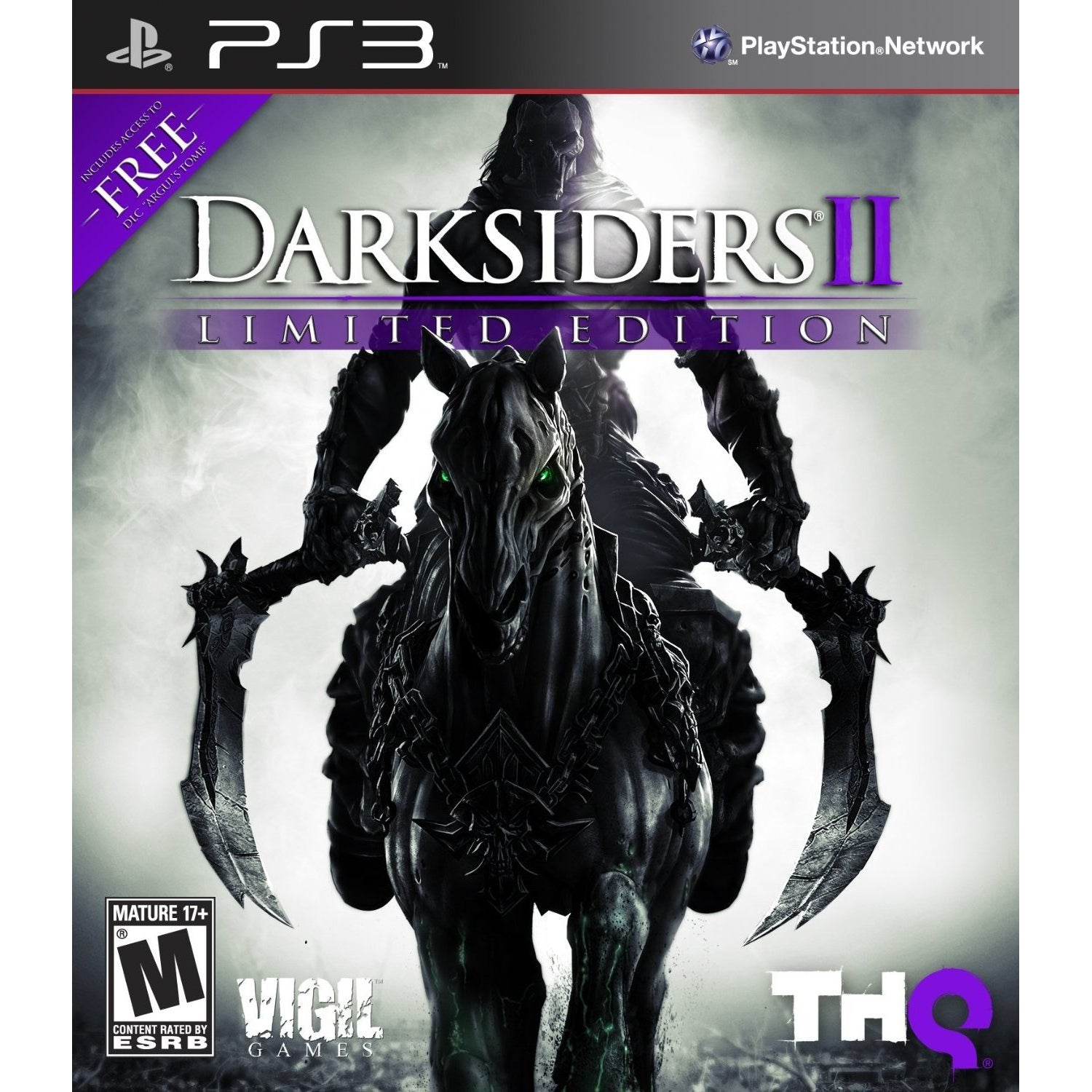 Darksiders II (Limited Edition) - PlayStation 3 (PS3) Game Complete - YourGamingShop.com - Buy, Sell, Trade Video Games Online. 120 Day Warranty. Satisfaction Guaranteed.