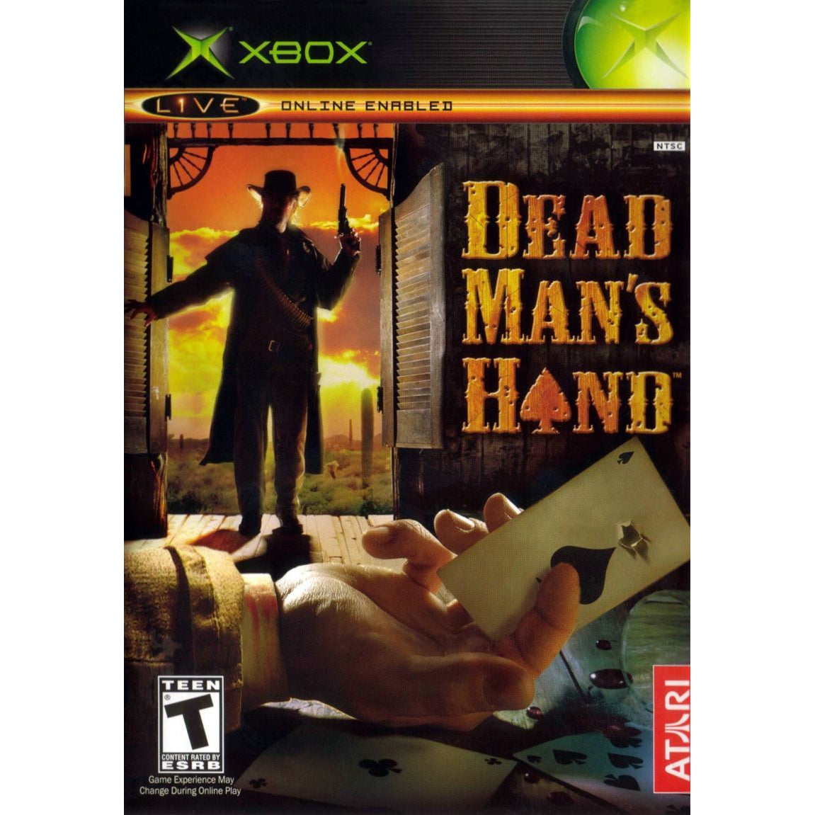 Dead Man's Hand - Microsoft Xbox Game Complete - YourGamingShop.com - Buy, Sell, Trade Video Games Online. 120 Day Warranty. Satisfaction Guaranteed.